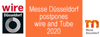Messe Düsseldorf verschiebt Wire und Tube 2020