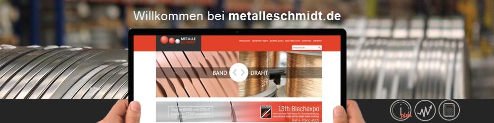 neue web metalle schmidt